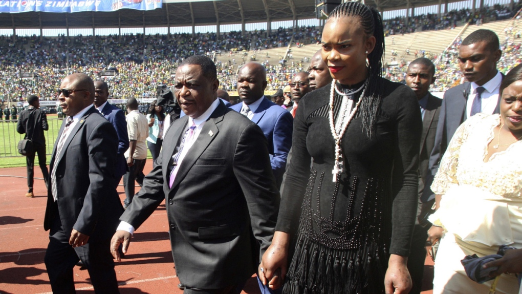 Wife charged with attempted murder of Zimbabwe vice-president