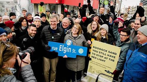 Elgin Street reopens