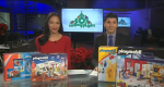 Playmobil donates to CTV's Toy Mountain