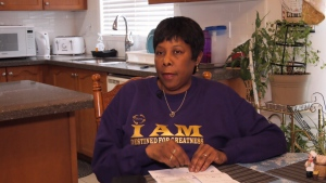 Whitby, Ont. resident Jackie Lawrence who had more than $2,000 stolen from her bank account will not be reimbursed because she kept the PINs to her credit cards in her wallet.