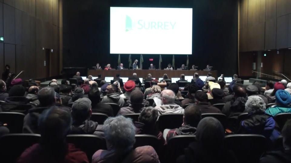 Surrey city council
