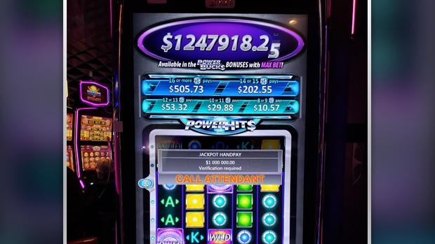 Powerbucks jackpot at Lac Leamy Casino