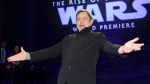 Mark Hamill arrives at the world premiere of 'Star Wars: The Rise of Skywalker' on Monday, Dec. 16, 2019, in Los Angeles (AP Photo/Chris Pizzello)