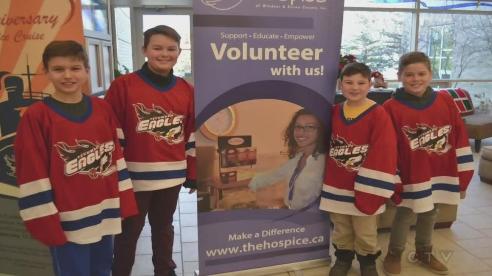 Hockey for Hospice