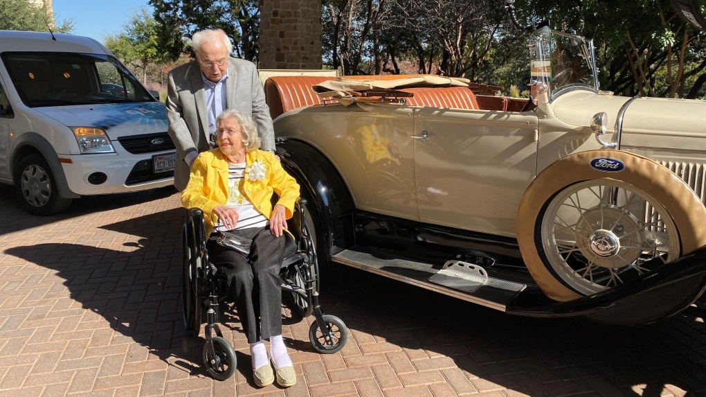 oldest couple