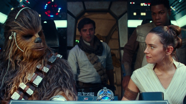 A scene from 'Star Wars: The Rise of Skywalker.' (Disney / Lucasfilm Ltd. via AP)