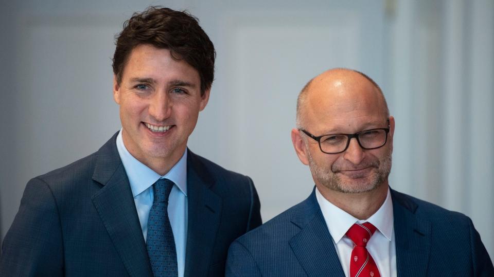 Trudeau, Lametti