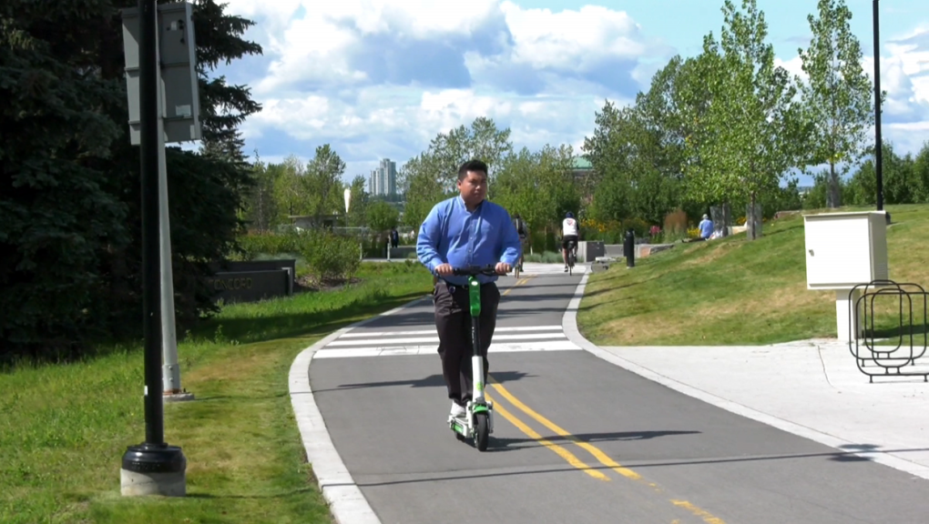 E-scooters, electric scooter, Calgary