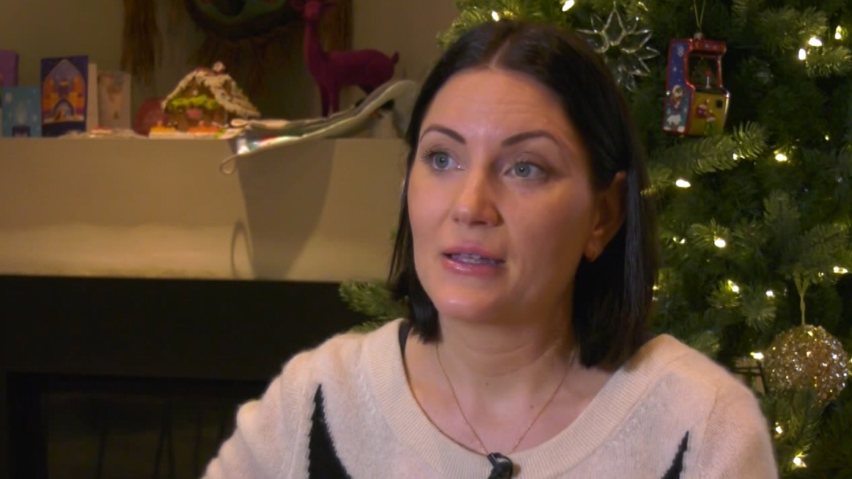 Natalie Boll speaks to CTV News on Wednesday, Dec. 17, 2019. Boll says her 11-year-old daughter was tormented by bullies while attending the elite Crofton House public school in Vancouver.