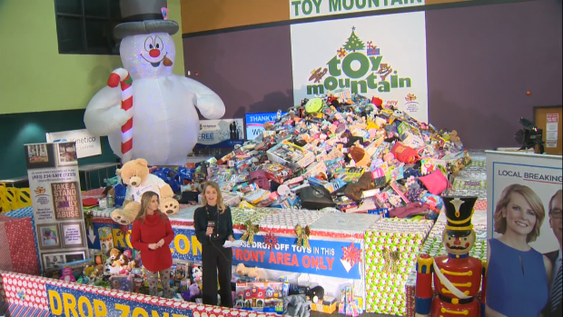CTV Calgary's 6th annual Toy Mountain campaign has been a huge success to help the Women's Emergency Shelter