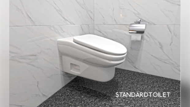 U.K. startup creates uncomfortable toilet to increase worker's productivity