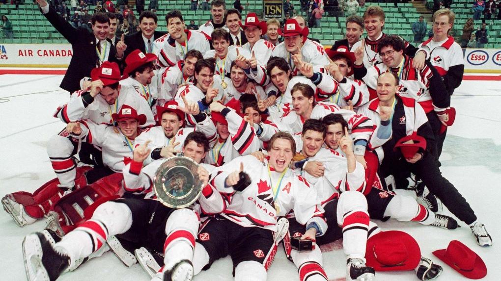 Canada World Juniors '95 Winners