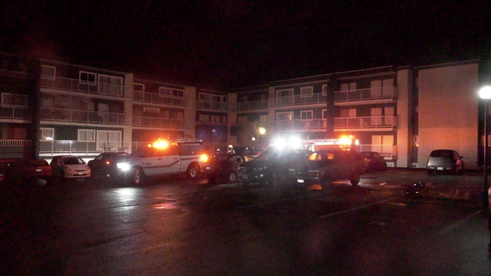 The 74-unit Mariner Apartment Building was completely evacuated early Friday morning: Dec. 20, 2019 (CTV News)