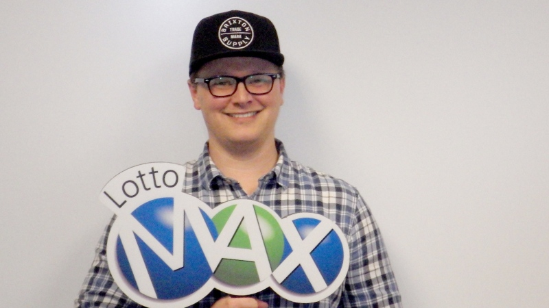 Joshua Caines is Calgary's newest multi-millionaire after claiming the $50-million jackpot from the Aug. 30 Lotto Max draw. (WCLC)