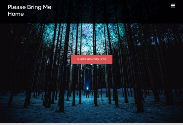 Please Bring Me Home website
