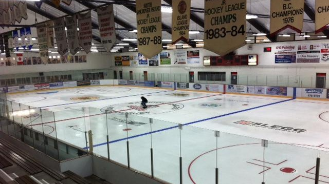 Pearkes Arena in Saanich is seen in this file photo.