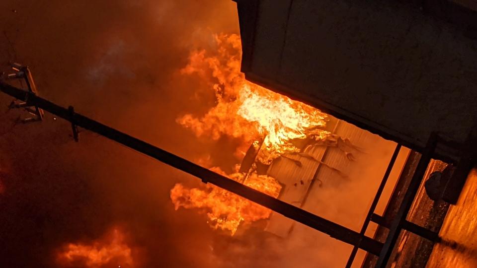 Chilliwack fire
