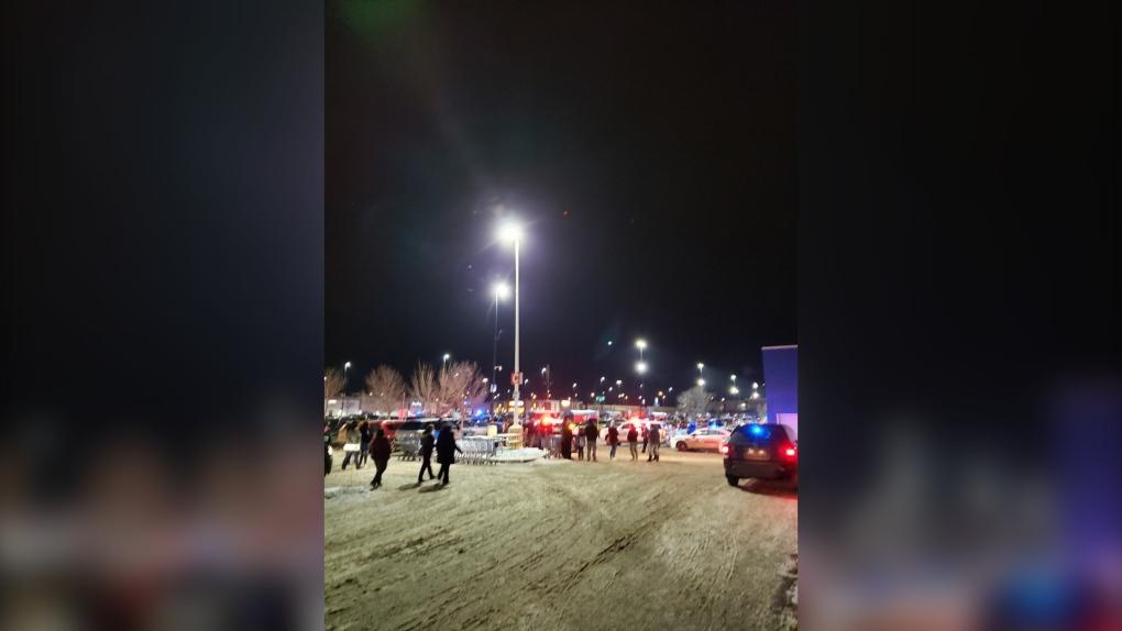 Red Deer Wal-Mart police incident