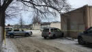 Winnipeg Police say a male was taken to hospital in critical condition after being found in medical distress. (Source: Zachary Kitchen/CTV News)