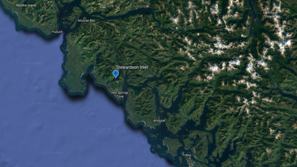 Stewardson Inlet Google Earth