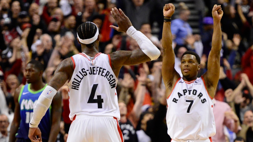 Raptors rally from 30-point deficit to down Mavs