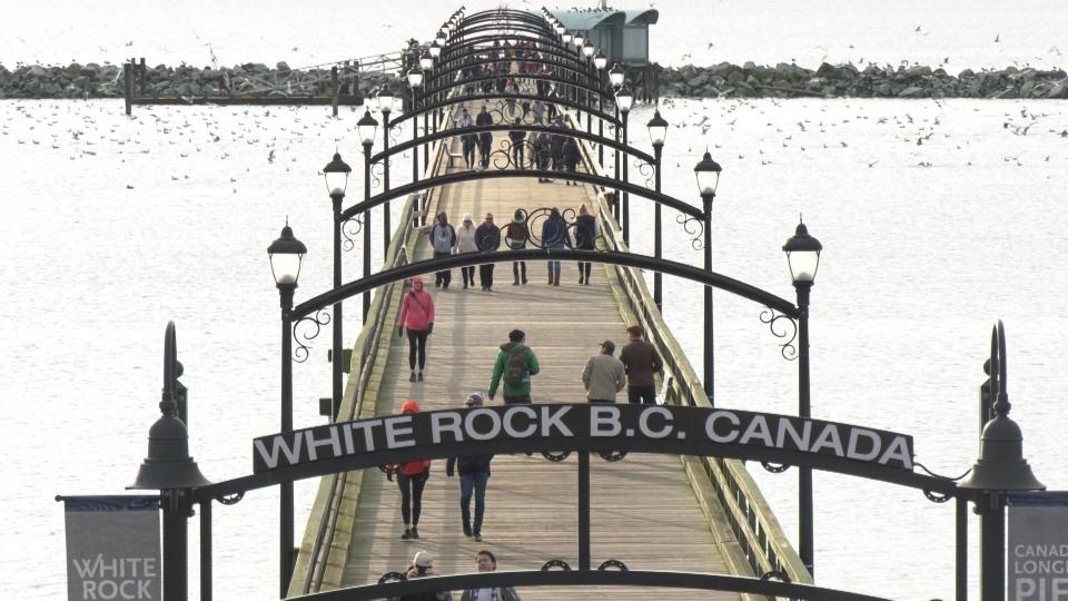 1 year since White Rock pier damage