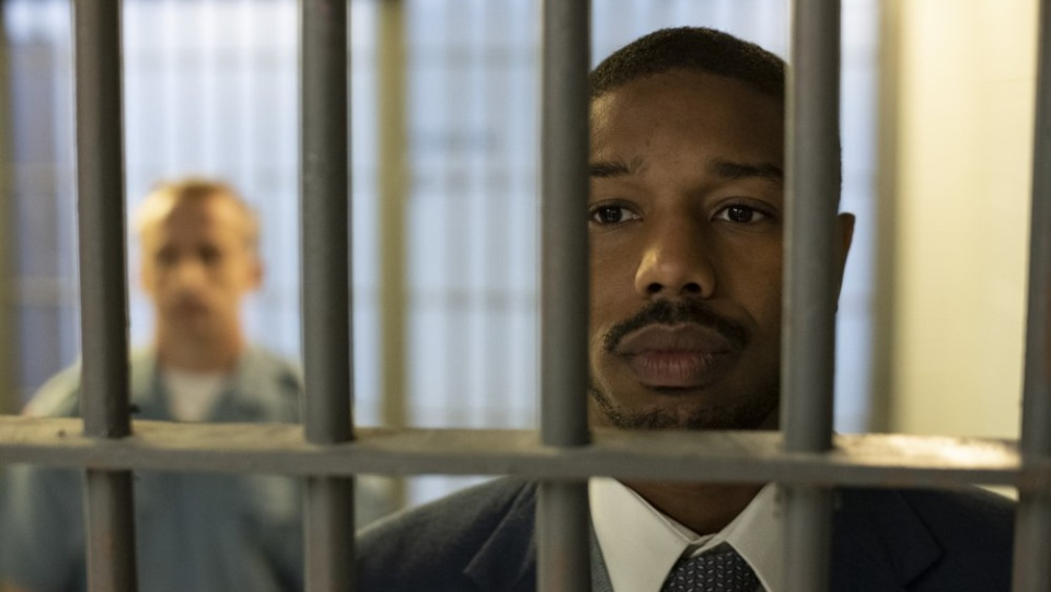 This image released by Warner Bros Pictures shows Michael B. Jordan in a scene from