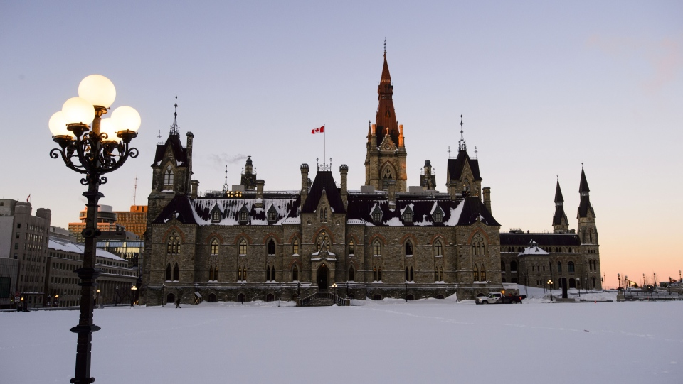 The newly-renovated West Block of Parliament started its first day in the temporary chamber in Ottawa on Monday, Jan. 28, 2019. THE CANADIAN PRESS/Sean Kilpatrick