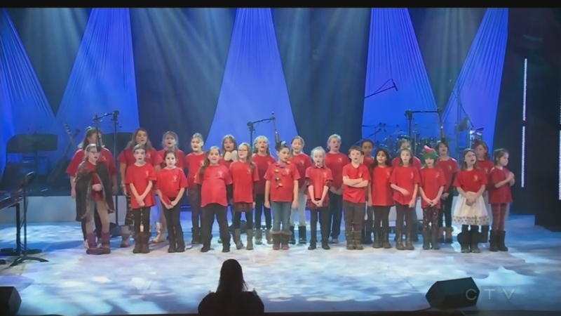 Students in the Chelmsford Public School Choir perform A Million Dreams on the 2019 CTV Lion's Children's Christmas Telethon.