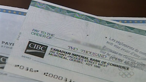 how to write a cheque cibc