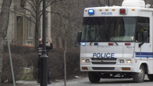 A 48-year-old woman is dead after being shot on Christmas Day in downtown Montreal.