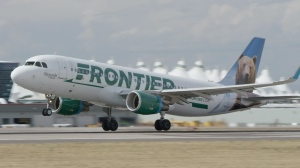 File photo of Frontier Airlines plane. (Frontier Airlines)