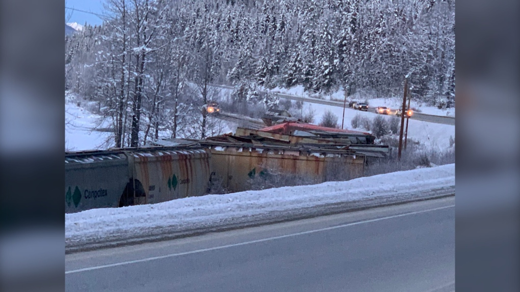 train derailment, Dec. 26 2019, CN, Fraser