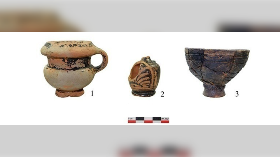 Scythian Amazon remains