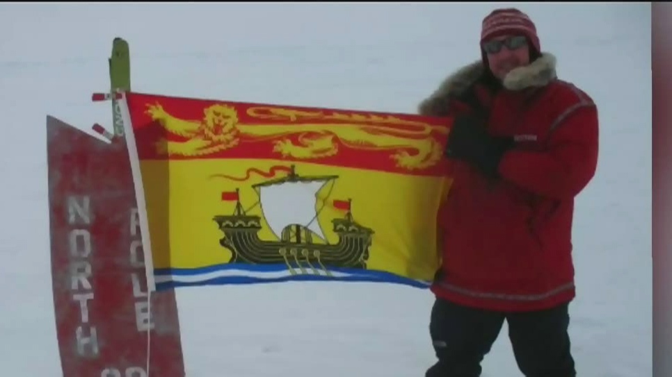 Philanthropic adventurer from Fredericton to trek South Pole for mental health