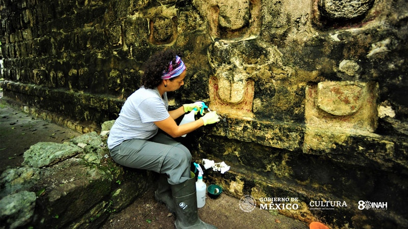 Ruins of an ancient Mayan palace discovered in Mexico