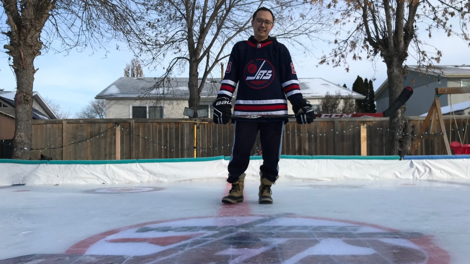 Winnipeg Jets rink