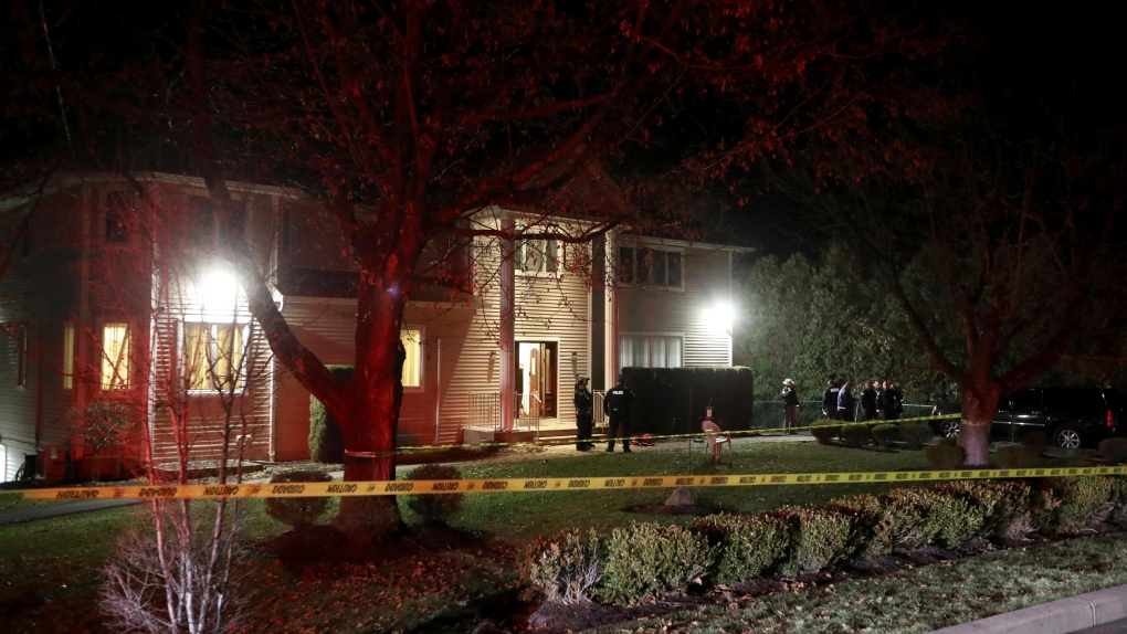 Five stabbed at rabbi's home during Hanukkah celebration