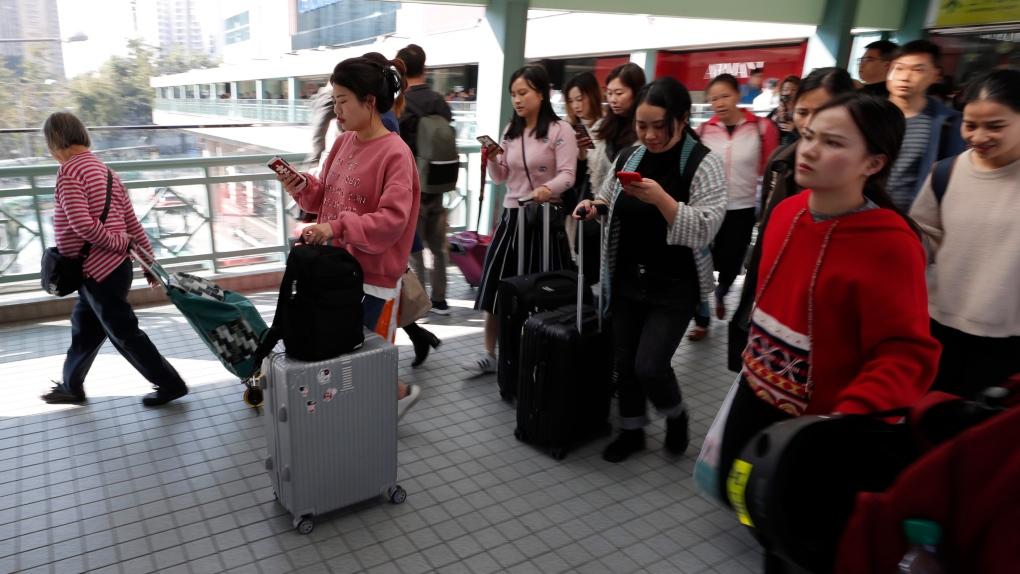 Travel advisory issued for Hong Kong