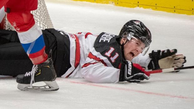 QMJHL suspends Oceanic star Alexis Lafreniere three games for check to the head