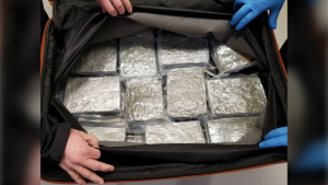U.S. border patrol are reminding travellers that taking cannabis to the States remains illegal after two Canadians were arrested for attempting to smuggle nearly 18 kilograms of marijuana to Miami. (U.S. Customs and Border Protection)