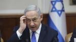 Israeli Prime Minister Benjamin Netanyahu attends the weekly cabinet meeting at his office in Jerusalem, Israel, on Dec. 29, 2019. (Abir Sultan / Pool photo via AP)