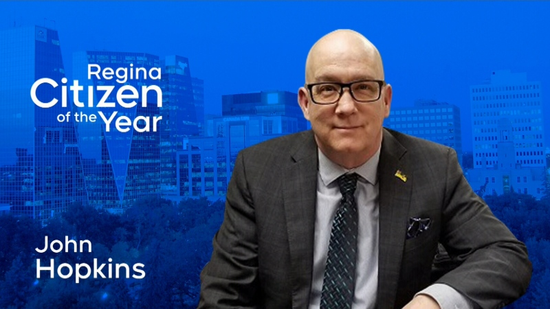 2019 CTV Regina Citizen of the Year John Hopkins.