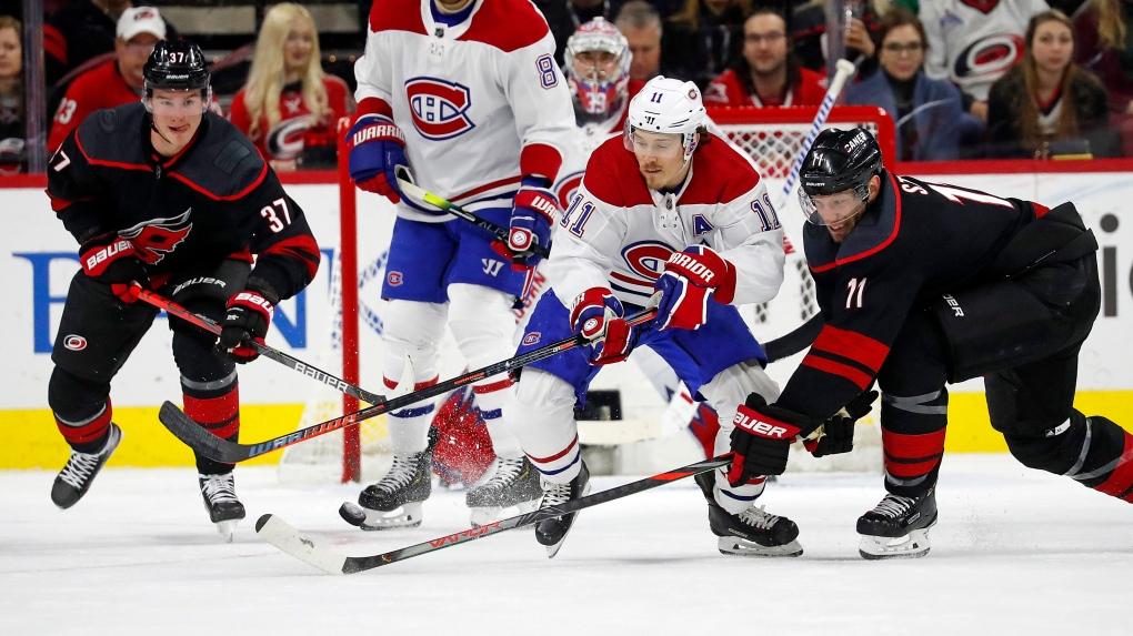 Lightning overcome sluggish start, beat Canadiens 5-4