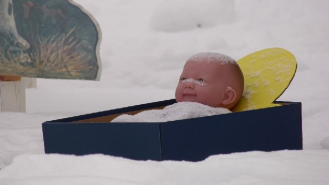 New Baby Jesus Delivered New Year S Day After Saskatoon Nativity Scene Theft Ctv News