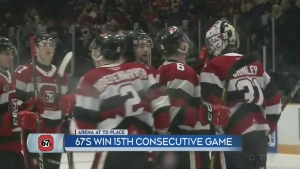 Ottawa 67's set franchise record