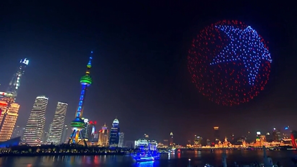 China Station Admits New Year's Drone Show Was Prerecorded