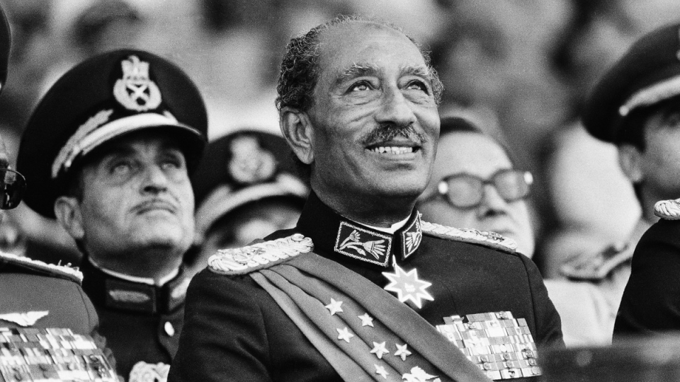 Anwar Sadat on the day he was killed in 1981