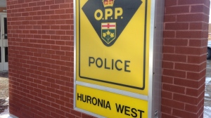 Huronia West OPP (file image).