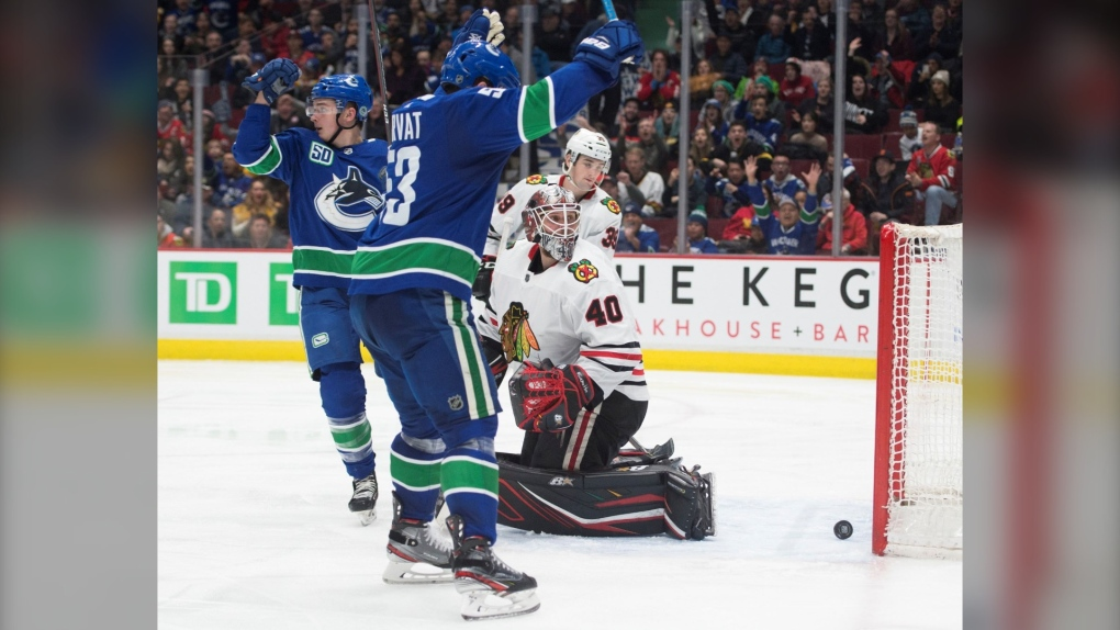Canucks vs Blackhawks